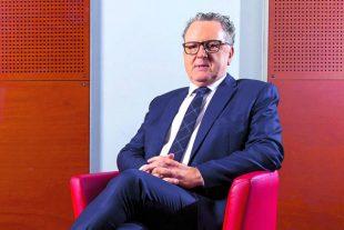 Richard Ferrand, president du groupe La Republique en Marche 28/01/2018