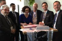 Signature du contrat de transition écologique du PETR Pays de Balagne le 7 février 2020.