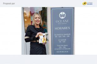 Christine Couedic de l'Institut de beauté Océane à Bressuire participe au dispositif numérique mené par Isoskele et la CCI 79 pour dynamiser les ventes de ses produits en ligne.