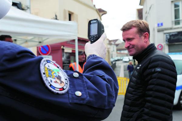 safe city Mennecy caméra thermique portable