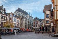 Troyes et ses façades à pans de bois