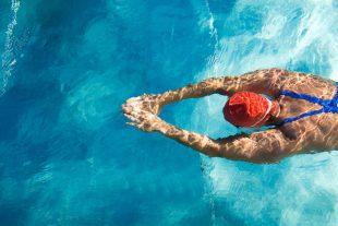 Piscine nageur