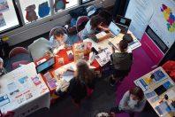 A Auray, en octobre 2019, une journée professionnelle de bibliothécaires