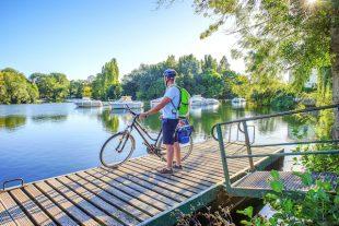 Châteauneuf sur Charente vélo