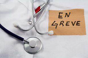 médecin grève