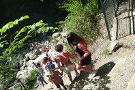 Séjour éducatif avec les familles dans le Jura.