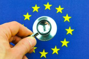 Euro zone concept santé
