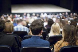 audience at the theater