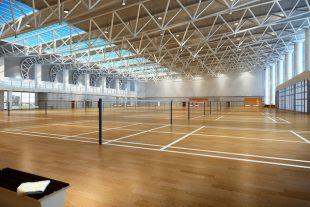 Salle badminton