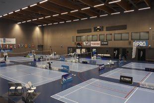 Salle badminton Everest Voiron Isère