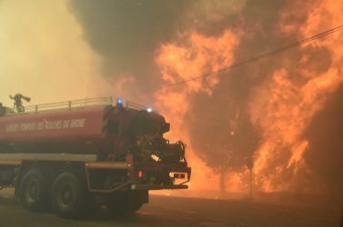 incendie Rognac Vitrolles 10 août 2016