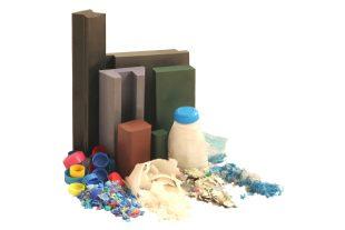 Le Recyclene est un matériau fabriqué à partir de plastique composite recyclé à base de polyéthylène issu de déchets industriels, agricoles et ménagers. Il sert notamment à fabriquer du mobilier urbain.