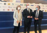 Valérie Pécresse, Jean Castex et Renaud Muselier, le 19 octobre, lors du congrès des régions de France.