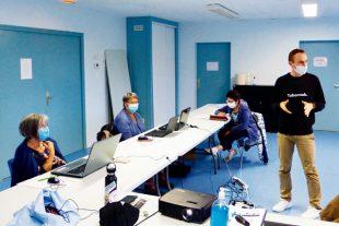 Un atelier de médiation numerique