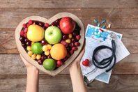 santé fruit stéthoscope