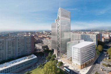 A Lyon, la nouvelle municipalité « réinterroge » le projet Lyon Part-Dieu visant à densifier le quartier des affaires lyonnais, quartier où la tour Silex 2 sera livrée en 2021.
