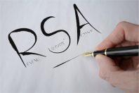 RSA manuscrit noir