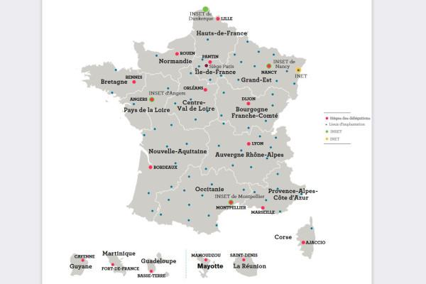 INSTITUT NATIONAL SPÉCIALISÉ D'ÉTUDES TERRITORIALES D'ANGERS