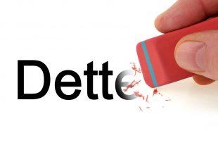 Effacement de la dette