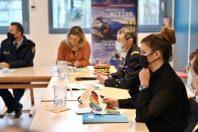 La ministre déléguée à l'Intérieur, Marlène Schiappa, en déplacement à Orléans le 15 janvier 2021.