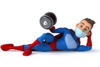 sportif héros masque