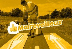 «Maireveilleux»: De la peinture fluorescente pour mieux sécuriser les voies cyclables