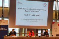 Conférence régionale du sport d'Île-de-France