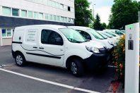 Le stockage de l'électricité produite assurant la recharge des 24 véhicules de l'agglo se fait grâce à des batteries neuves et d'occasion.
