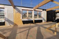 À Nancy, le collège ARTEM est la première structure bois en R+3 de la région. Construit sous la maîtrise d'ouvrage du CD54, il sera également à énergie positive.