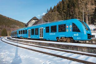 Train allemand à hydrogène construit par Alstom
