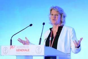 Brigitte Henriques, présidente du CNOSF