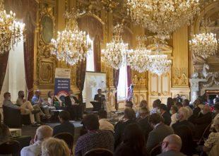 Assemblée générale de l'Association des maires ruraux de France (AMRF) les 29 et 30 mai 2021 à l'Hôtel de ville de Lyon.