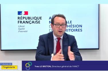 Yves Le Breton, directeur général de l'ANCT, en conclusion des Assises de l'ingénierie en juillet 2021.