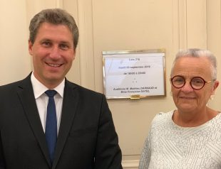 Mathieu Darnaud et Françoise Gatel