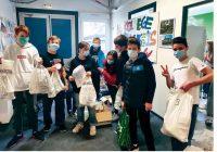 Au collège Duplessis-Deville, les élèves de troisième organisent la vente de produits locaux une fois par semaine.