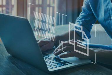document management concept, online documentation database