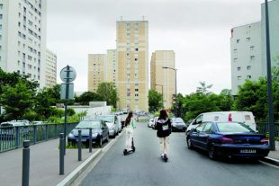 Les obligations concernant les taux delogements sociaux ont été assouplies.  Le quartier du bois du temple ˆ Clichy- sous-Bois le 30 juin 2021.