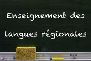 Enseignement des langues régionales