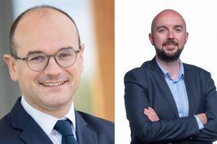 Sébastien Martin, président de l'AdCF et Sébastien Miossec, le président délégué