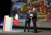 Macron congrès pompiers