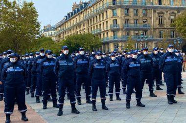 La police municipale de Paris entre en action