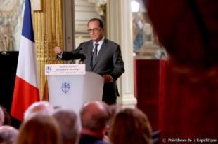 François Hollande, le 7 septembre 2015