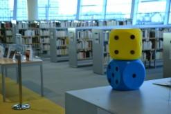 Bibliothèque des Champs libres, à Rennes, Cycle « A vous de jouer », janvier 2014, CC BY SA 2.0
