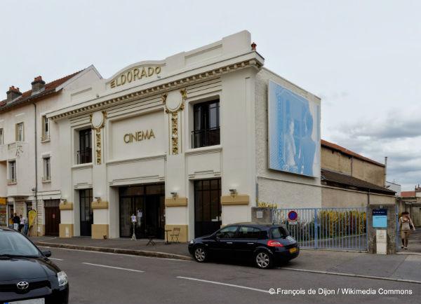 Cinéma Eldorado, à Dijon, François de Dijon Wikimedia Commons