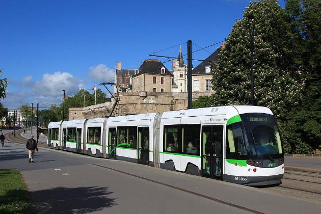 Tramway de Nantes, Cramos, CC BY-SA 3.0