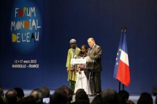 Ouverture du 6e Forum mondial de l'eau par Loïc Fauchon, président du Conseil mondial de l'eau.