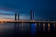 Le pont Bacalan-Bastide, à Bordeaux.