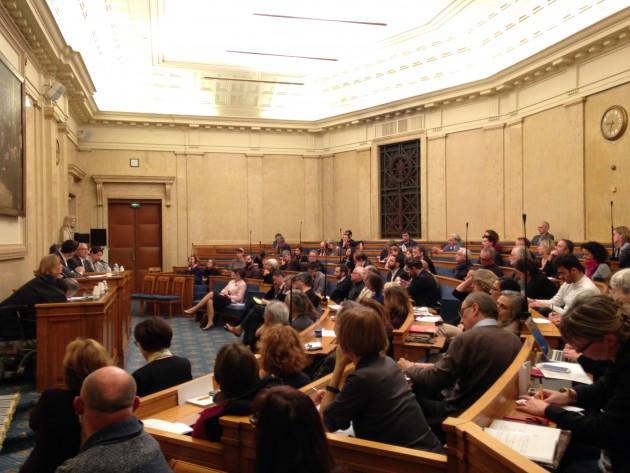 Premières Rencontres parlementaires sur les politiques culturelles, 19 novembre 2014