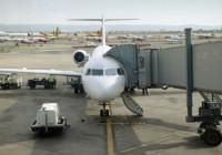 Avion au départ