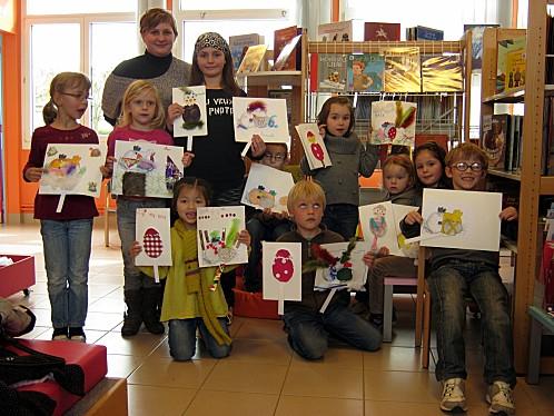 Atelier d'enfants, BM de Fleury-sur-Orne (Calvados), BY-CC